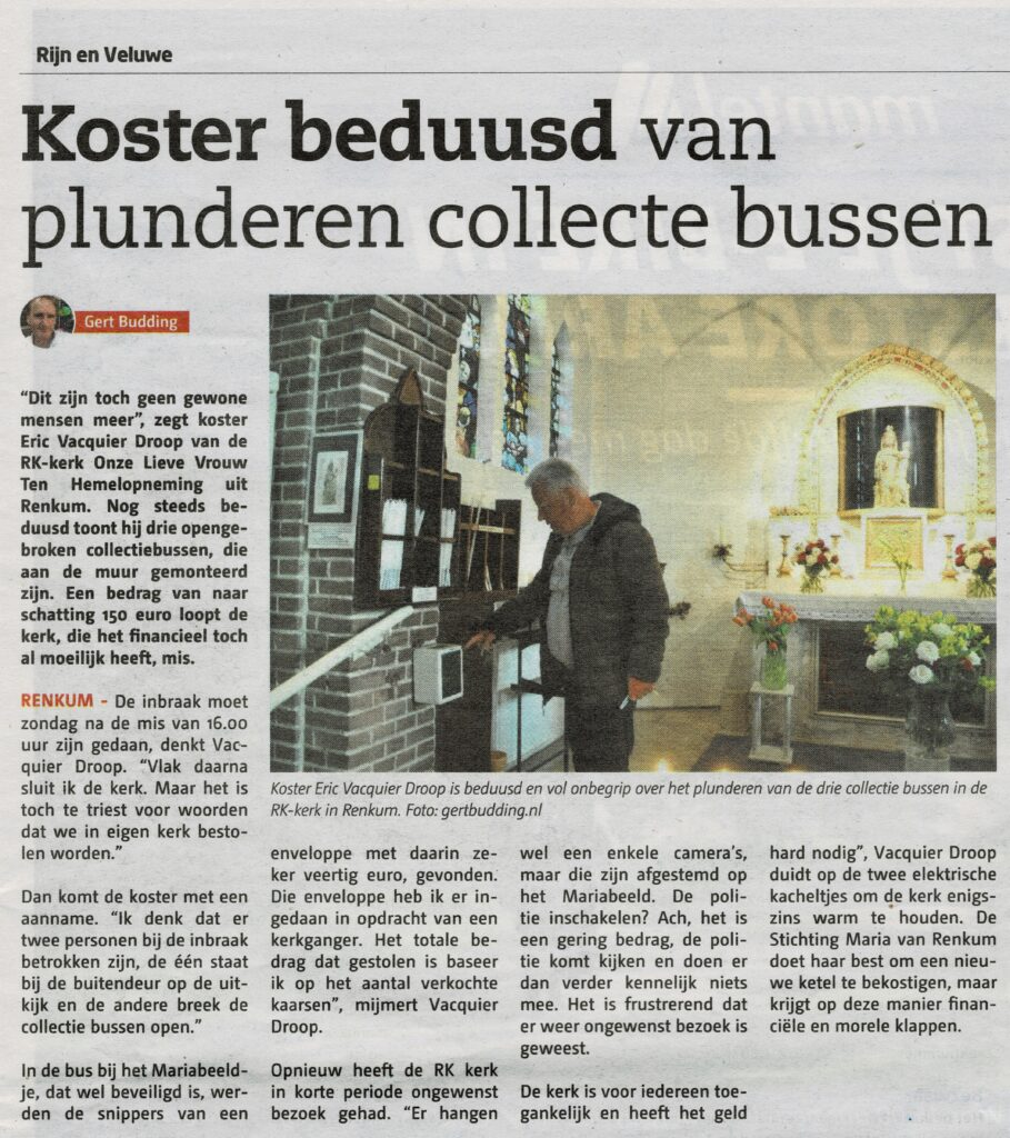 Krantenbericht Rijn en Veluwe
